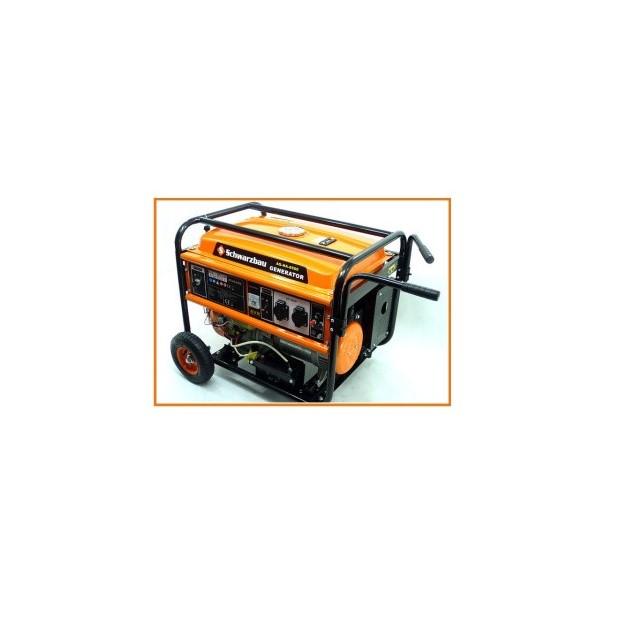 Generator prądotwórczy AG-HA-6500 Schwarzbau 9,8KW